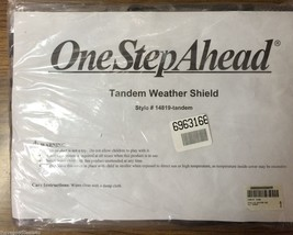 One Step Ahead Tandem Weather Shield For Stroller New In Sealed Package ... - $12.19