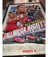 Talladega Nights Voluntad Ferrell El Ballard De Ricky Bobby Marco Póster... - $37.07