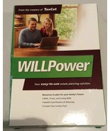 H&R Block Will Power Maker and Living Trust Full Version WillPower NEW CD - $9.89