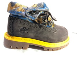 Timberland TODDLER KIDS WATERPROOF Roll-Top Leather Boots Shoes 8184R 1-... - $753,65 MXN