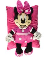 Minnie Mouse Bow Plush Pillow - $15.00