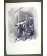 ST. BERNADINE Dog Alps Rescue Swiss Girl Winter - SUPERB Quality Print E... - $22.95