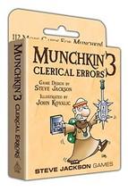 Steve Jackson Games Munchkin 3 - Clerical Errors - $22.12