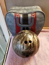 10 Pound Galaxie 300 Silver Gray Marble Bowling Bowl, Brunswick Bowling ... - $69.29
