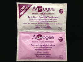 APHOGEE TWO STEP PROTEIN TREATMENT AND BALANCING MOISTURIZER PACKET
