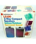 AudioSource LS100 Compact Speakers Indoor/Outdoor Surround Sound Brand N... - $19.34