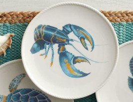 """Fitz & Floyd Cape Coral Collection Lobster Accent Plate 8.5"""" - $24.97"""