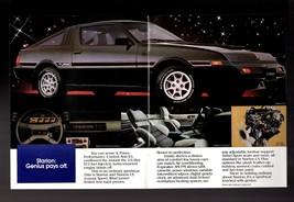 Original 1983 Mitsubishi Cars and Trucks Dealer Sales Brochure Starion LS Turbo - $8.54