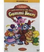 Adventures of the Gummi Bears Season 1 2 3 Collection DVD Set Series TV ... - $49.49