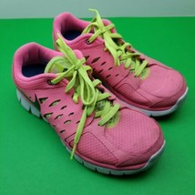 Nike Flex 2013 Run Women's Running Shoes - Pink - Size 6Y - 579971-602 - $18.69