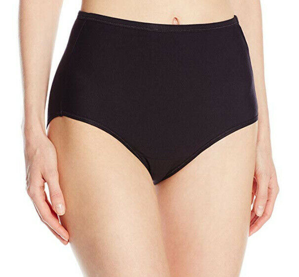 Primary image for Vanity Fair Women's Illumination Cotton Stretch Brief Panty 13316 Black 7/L