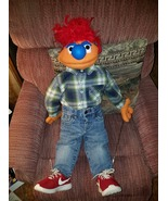 "MADE TO ORDER: Professional ""Sillman"" Muppet Style Ventriloquist Puppet - $50.00"