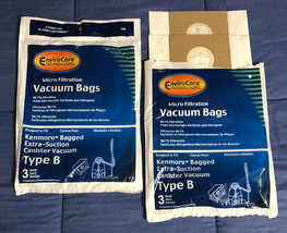 5 Type B Kenmore 24196 85003 634875 Allergen Vacuum Bags Extra Suction Galaxy - $6.23
