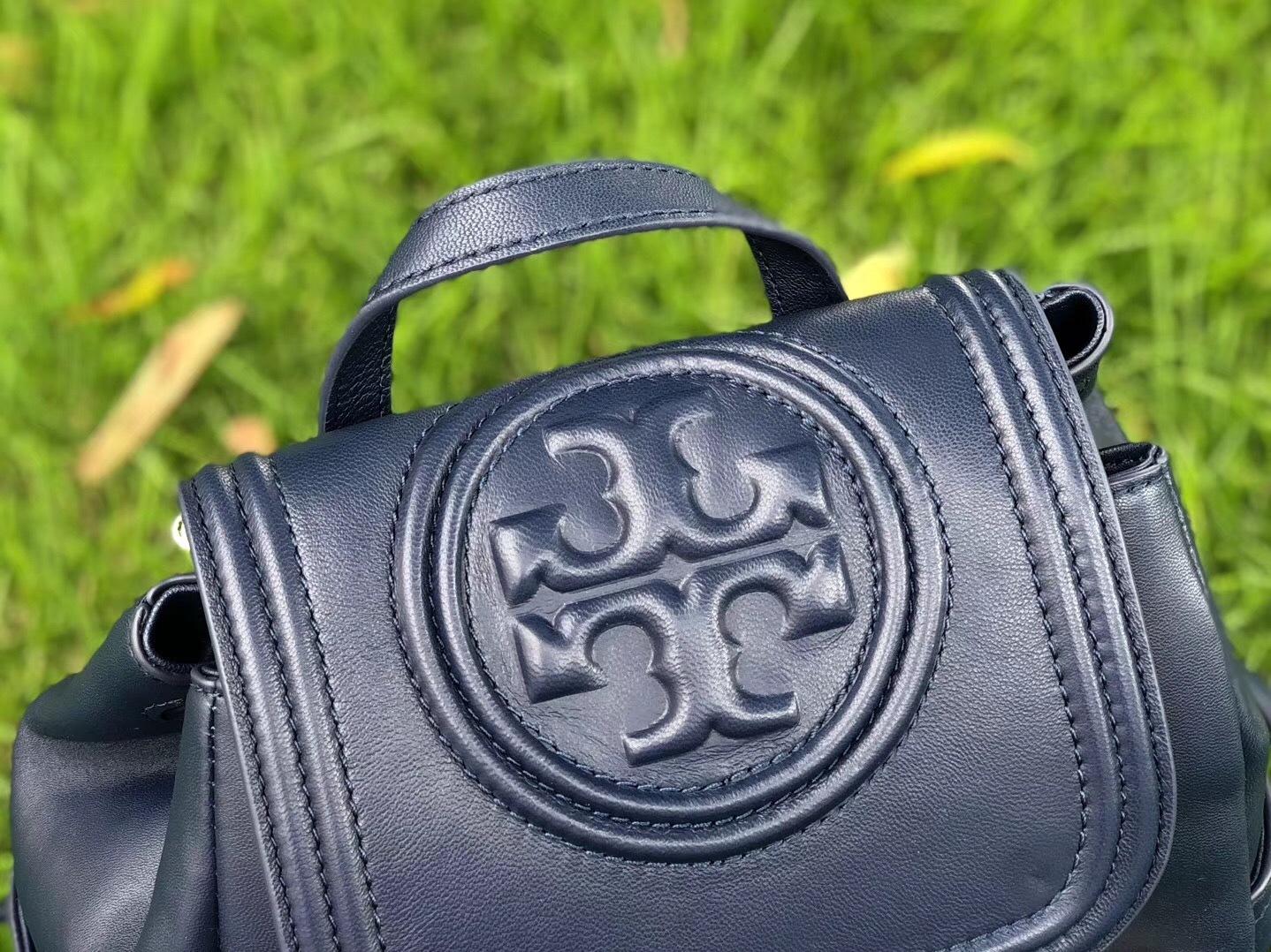 2b7454a5400 Tory Burch Fleming Royal Navy Backpack and 50 similar items