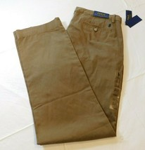 Polo Ralph Lauren Classic Fit 34W X 34L Brown pants The Polo Chino Cotton Twill - $51.72