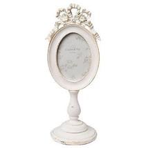 oval beunruhigt weiß 6cm x 9cm dekorativ Bilderrahmen Fotorahmen - $28.69