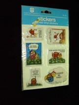 American Greetings Stickers 1982 New vinyl stickers - $14.99