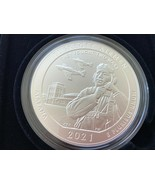 2021-P America the Beautiful Tuskegee Airmen Historic Site 5 OUNCE SILVE... - $381.15