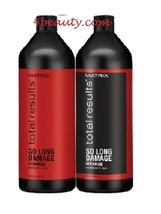 Matrix Total Results So Long Damage Shampoo and Conditioner 33.8 Oz Duo - $44.54