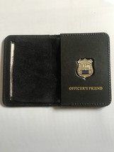 Police Officer Friend Generic Mini Shield  Leather ID Wallet - 2018 - $23.76