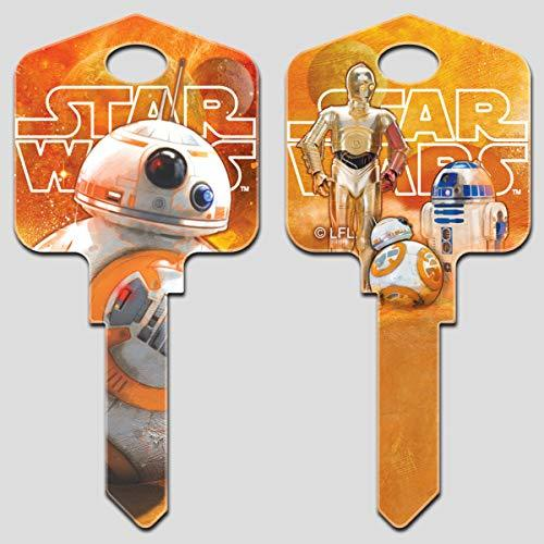 Primary image for Star Wars Key Blanks (Kwikset-KW, BB-8)