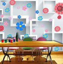 3D Bunte kleine Blumen 6565 Fototapeten Wandbild Fototapete BildTapete Familie - $52.13+