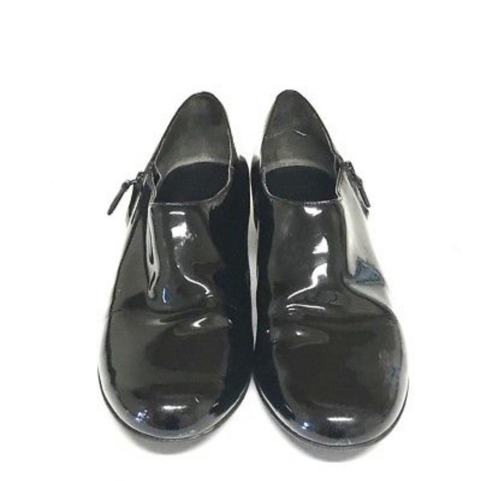 Aan black callie waterproof patent leather women s 11b wedges size us 11 regular m b 0 0 960 960