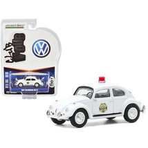 1964 Volkswagen Beetle Police Car White Scottsboro Police Department (Alabama... - $16.79
