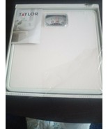 Taylor Mechanical Rotating Dial White Bathroom Scale Brand New / Model 2... - $12.86
