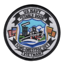 """3.5"""" NAVY IUWG-1 INSHORE UNDERSEA WARFARE GROUP ONE EMBROIDERED PATCH - $23.74"""