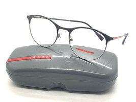 NEW PRADA VPS 53I VIX-1O1 BROWN SILVER MEN'S AUTHENTIC EYEGLASSES FRAME ... - $96.97