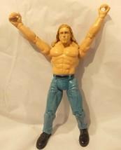 1999 Jakks Pacific Titan Tron Live Edge WWE Wresting Action Figure Toy - $4.99
