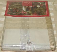 Lenox Americano da Design Inverno Tessuto Scozzese Tovaglia 60 x 84 Oblungo - $32.93