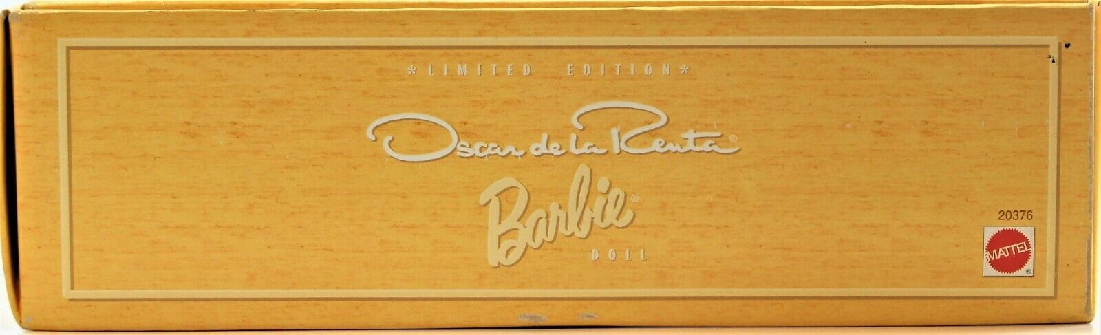 Limited Edition Oscar De La Renta Barbie Nrfb 1998 Collectibles Collection COA image 5