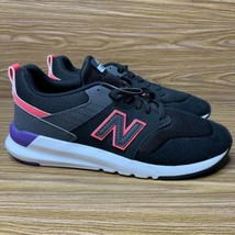 New Balance Womens 009v1 Lifestyle Shoes Sneaker Black Guava Pink Purple 7 US - $44.93