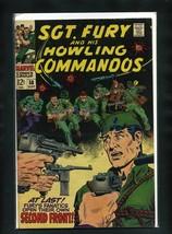 Sgt. Fury #58 FN 1968 Marvel Comic Book - $11.75