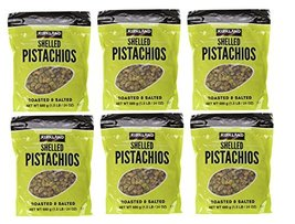 Kirkland Signature Shelled Pistachios Roasted & Salted, 144 Ounce (Pack ... - $131.66