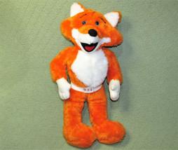 "VINTAGE 19"" RED E FOX 911 FOR KIDS TEXAS EMERGENCY VERY RARE STUFFED ANI... - $68.31"