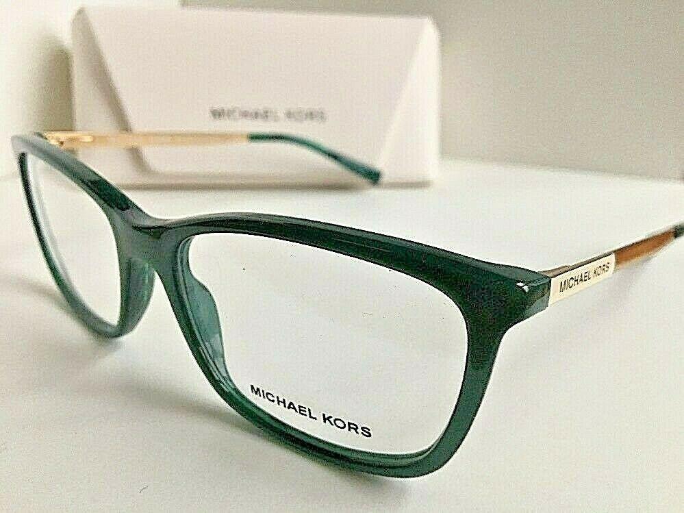 New MICHAEL KORS MK 3040 8831 Green 54mm Women's Eyeglasses Frame