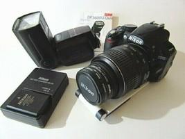 Nikon D D3100 14.2MP Digital SLR Camera - w/ AF-S DX VR 18-55mm Lens and... - $222.75
