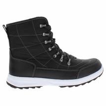 NEW Weatherproof Womens BLK/GRY Water Repellent Katie Winter Sneaker Ankle Boots image 2