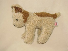 """TAFFY THE PUPPY DOG 1997 TY BEANIE BABY CLASSIC 10"""" BEIGE TAN BROWN - $19.79"""