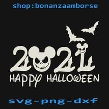 2021 Happy Halloween Svg, Trick Or Treat Halloween , Mouse Halloween SVG... - $1.99