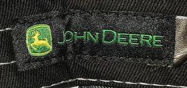 John Deere LP49279 Adjustable Black Stone Wash Denim Leaping Deer Logo image 7