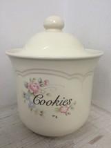 PFALTZGRAFF TEA ROSE COOKIE JAR - U.S.A. GUC CL... - $9.49