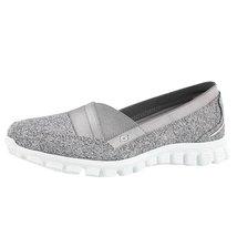 Skechers Women's EZ Flex Take 2 Fascination Slip On Walking Shoe Gry/Wht... - $59.39