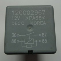 Gm Deco Relay 120002967 Oem Free Shipping 6 Month Warranty! GM3 - $5.25
