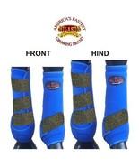 4 PACK MED HILASON INFRA-TECH HORSE MEDICINE SPORTS BOOTS FRONT HIND LEG... - $119.95