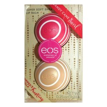 EOS 2-Pack Holiday Whipped Vanilla Frosting & Candy Cane Swirl Lip Balm ... - $11.87