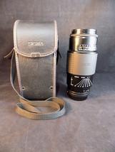 Sigma Minolta Camera Lens 75MM To 300MM 1:4.5 ~5.6 Telephoto 1028922 w/ Case - $59.83